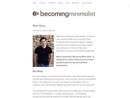 #FreedomFriday: Becoming Minimalist