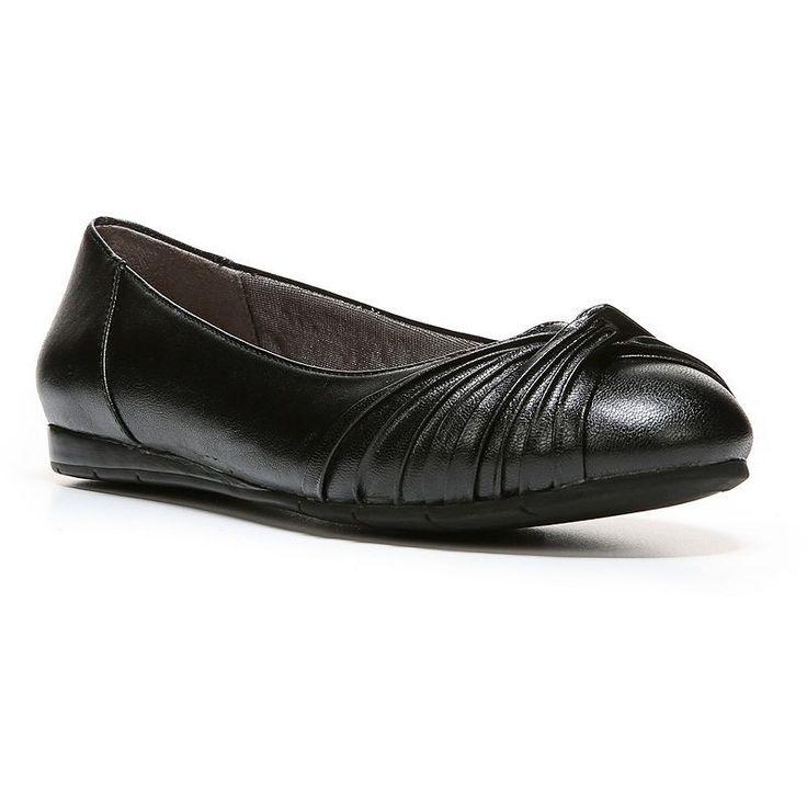 LifeStride Notorious Women's Ballet Flats, Size: medium (7.5), Black