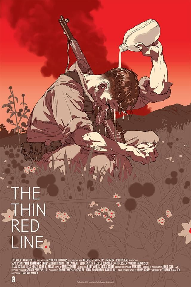 The Thin Red Line by Tomer Hanuka