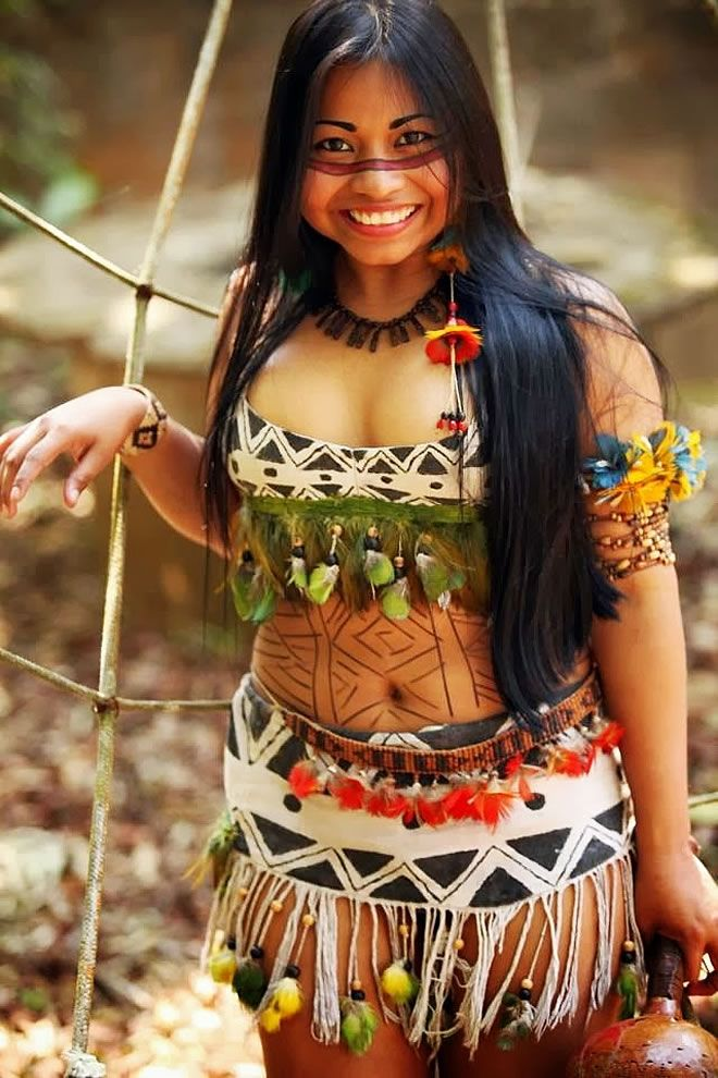 Cultura indígena brasileira é muito linda! #Brazil