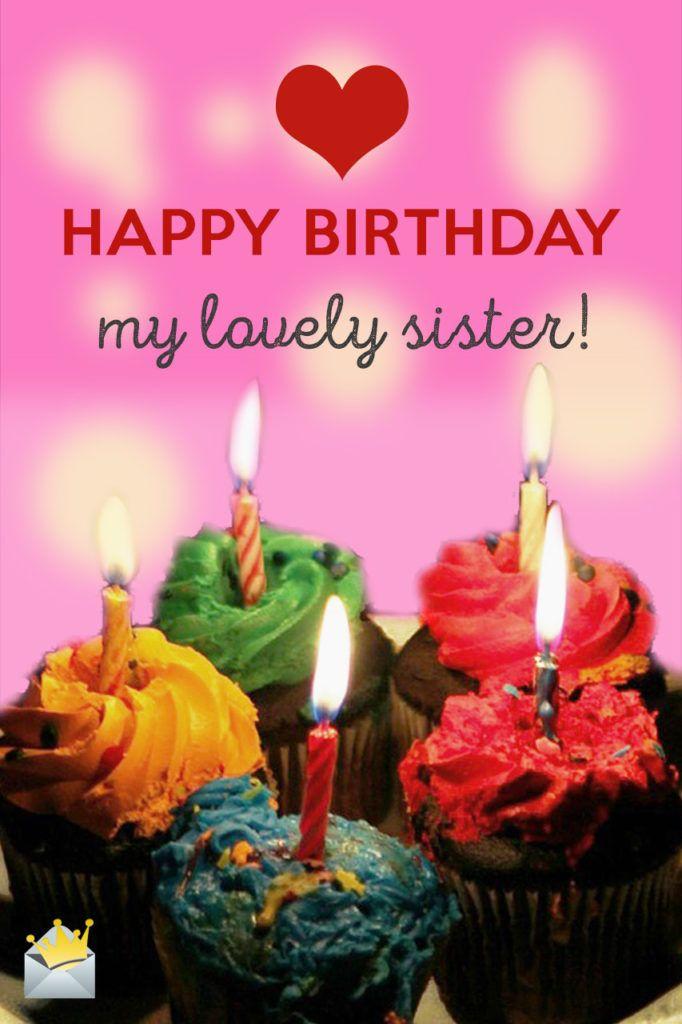 Happy Birthday, my lovely sister!