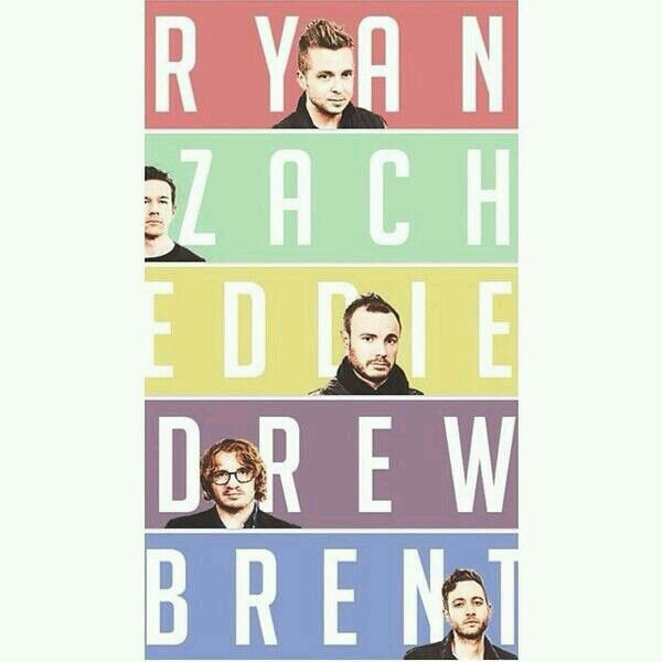 OneRepublic…99% sure I already pinned this but some people just need a lesson on the names of the band members.  ;D