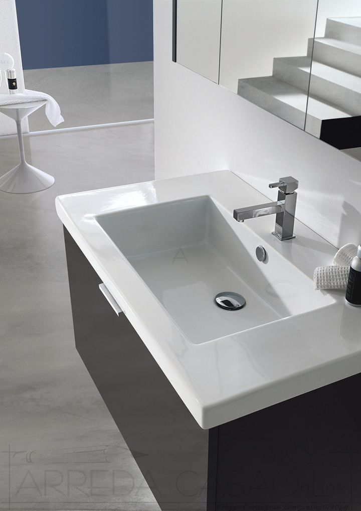 230 best arredo mobili bagno - bathrooms design images on ... - Specchio Contenitore Bagno Prezzi