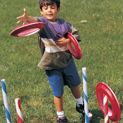 Ring Toss http://spoonful.com/family-fun/ring-toss