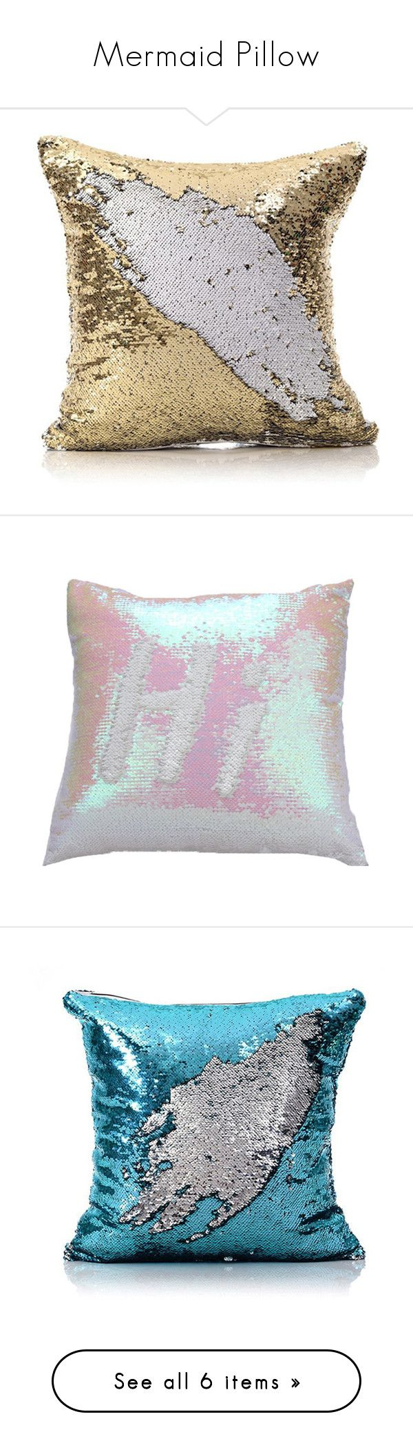 Horse shaped pillows for children -  Mermaid Pillow By Homelava Liked On Polyvore Featuring Array0x197d8c40 Home Home