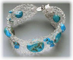 Technique de Wire Crochet - fil crocheté - Le blog de Créations-Gil,bijoux artisanaux