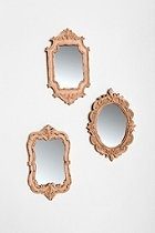 $48 Urban Outfitters Camille Wall Mirrors Set of 3