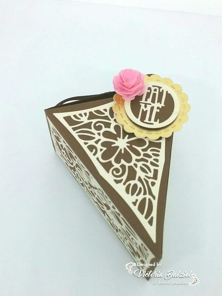 Decorative Bakery Boxes Interesting 7 Best Tonic Studios Cupcake Treat Boxes Images On Pinterest Design Ideas