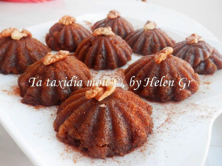 Χαλβάς με Πετιμέζι - Halva with Grape Molasses