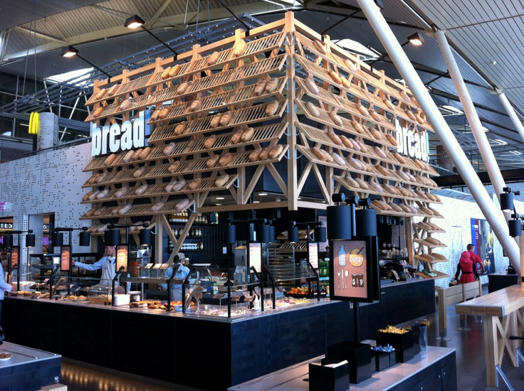 Bread kiosk @ Amsterdam airport