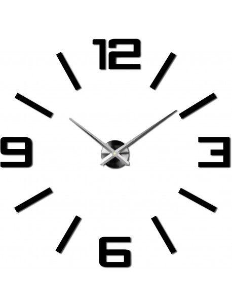Veľké 3D nástenné hodiny farebné - Kelsey  Kód: X0037-Modern wall clock  Stav: Nový produkt  Dostupnosť: Skladom  Vyber si farbu podľa seba! Vyplň prázdne miesto a  zútulni si svoje bývanie novými hodinami. Veľké nástenné  hodiny sú jedinečnou dekoráciou Vášho interiéru. Prišiel čas na zmenu.