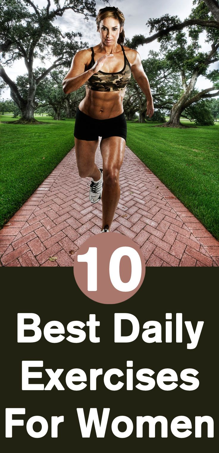 Excerise: Best Daily Exercises For Women - Our Top 10