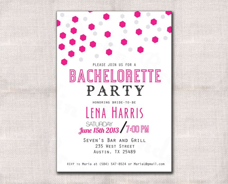 2391 best Bachelorette Party Invitations images – Bachelorette Party Invitation Templates