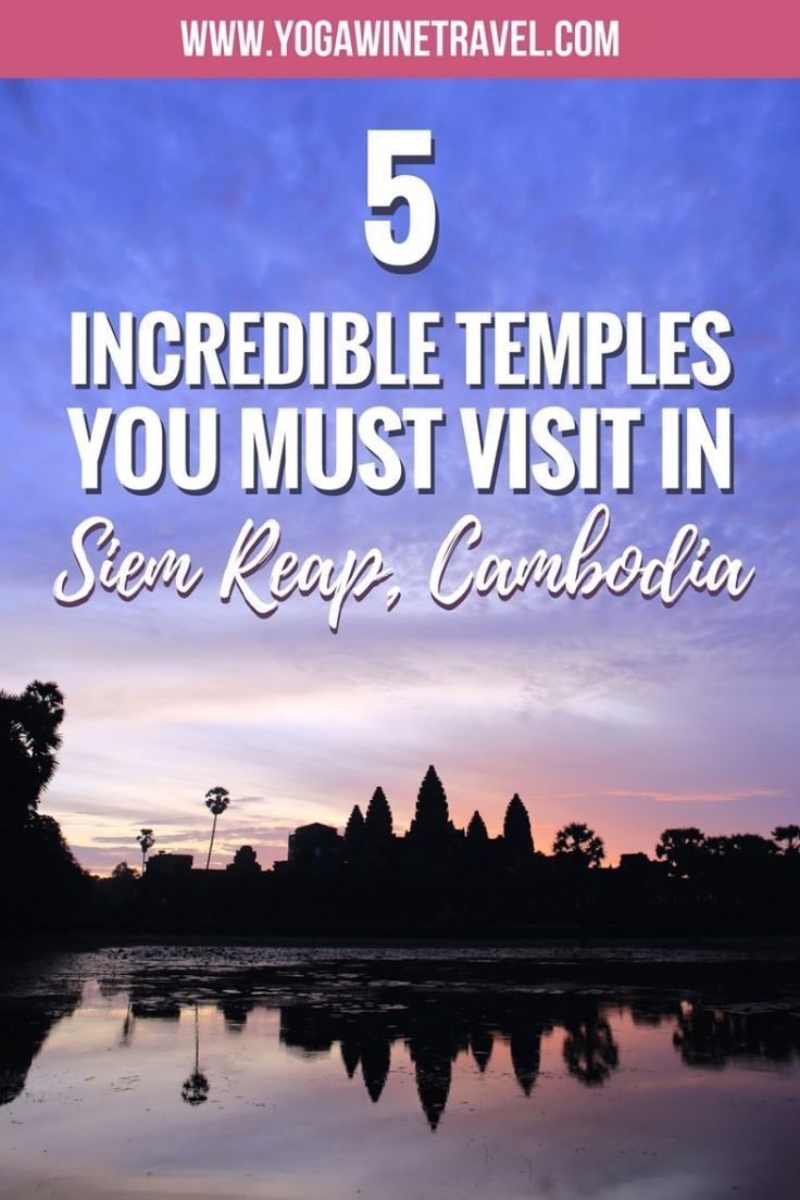 Temples Galore in Cambodia: 5 Top Temples You Must Visit in Siem Reap