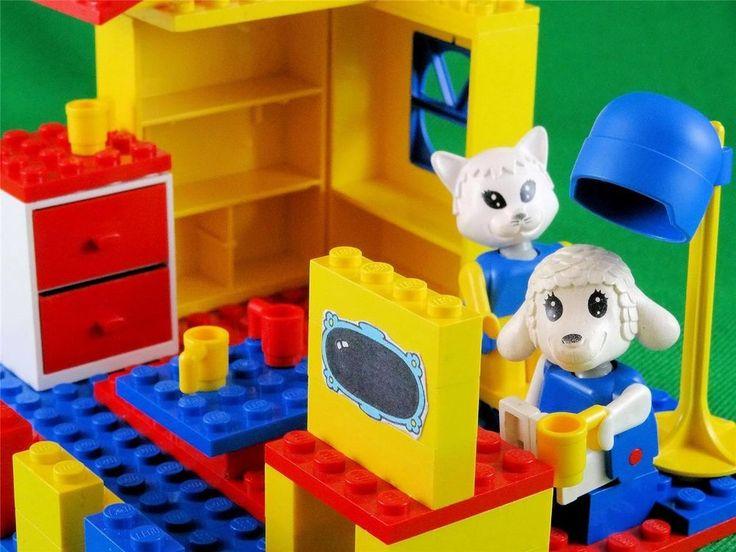 Vintage Lego Fabuland freestyle(6) based on 3623 Beauty Salon (1988) w.Lisa Lamb