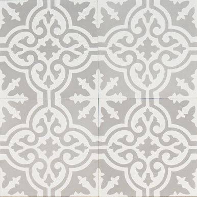 Jatana Interiors, Grey Moroccan Bazaar, reproduction encaustic tile
