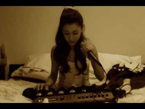"""Just For Now"" - Ariana Grande ( Imogen Heap cover ) Shes sooo amazingly talented you MUST watch! I <3 you ari!!"