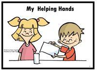 "Alphabet Sight Word Reader  Helping Hands- ""Hh"" Focus Letter"