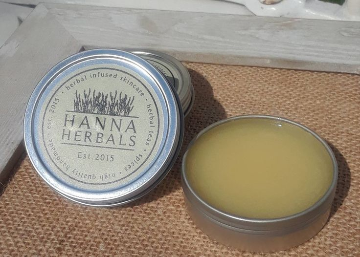 Island Breeze Body Balm - 2 ounces - dry skin balm - hand and foot balm - gardening balm - cracked heels balm - dry knees balm by HannaHerbals on Etsy