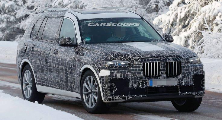 BMW X7 Reportedly Heading To LA Auto Show For Its World Premiere #news #BMW
