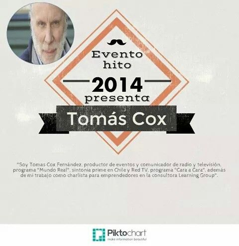 Conoce más de Tomás Cox en Conect@dos 2014