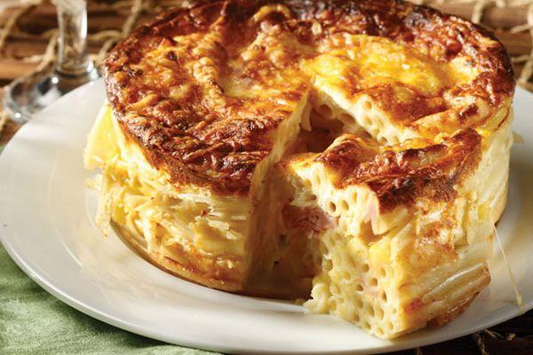 Συνταγή για πεντανόστιμη μακαρονόπιτα με διάφορα τυριά!