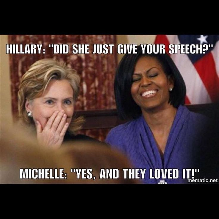 Republicans cheering the words of Michelle Obama ~ Priceless!