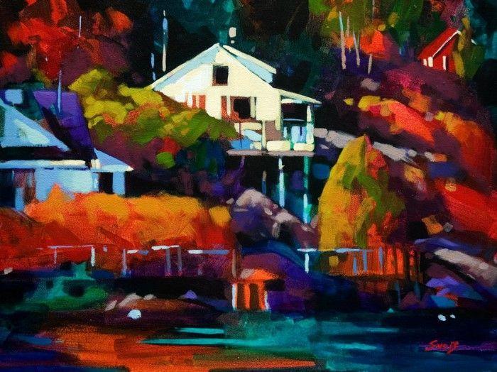 Сильные и смелые цвета. Mike Svob