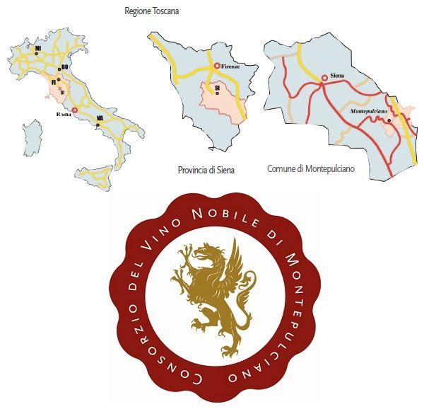 Vino Nobile di Montepulciano DOCG Zona di produzione: comune di Montepulciano, tranne la parte bassa della Val di Chiana. I terreni sono di origine pliocenica ad un' altitudine compresa fra i 250 e i 580 metri s.l.m.. La storia di Montepulciano (di origini etrusche) è da sempre intimamente legata alla fama delle sue vigne e del suo vino. Fin dalle sue origini remotissime Montepulciano fonde con il vino la sua storia come testimonia una kylix (tazza da vino) rinvenuta nel 1868, insieme a…