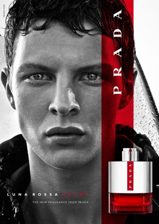 Prada Luna Rossa Sport Fragrance Campaign.   We are looking forward to welcoming a new Luna Rossa to the collection very soon.
