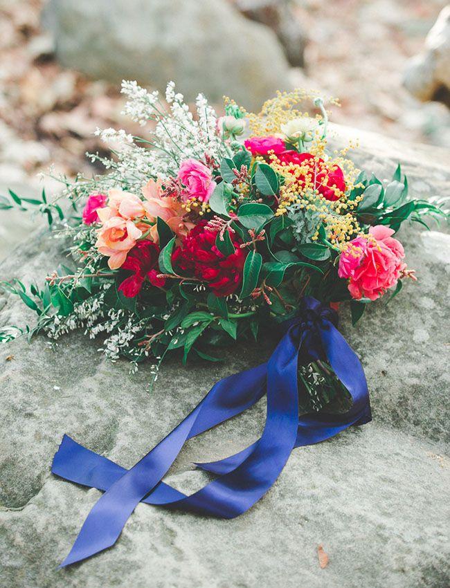 wild colorful bouquet