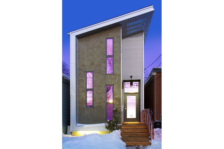 einrichtungsideen kleine r ume ein mini haus in toronto architecture pinterest mini. Black Bedroom Furniture Sets. Home Design Ideas