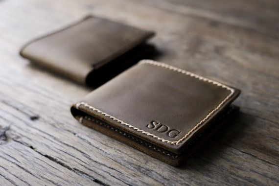 Mens Leather Wallet with Coin Pocket All Currency by JooJoobs