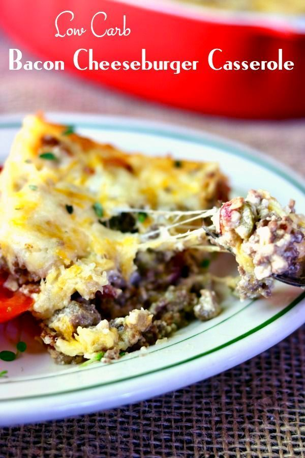 Keto recipes with ground beef and bacon