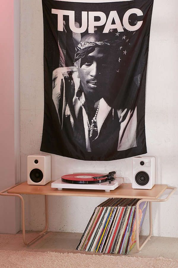 Slide View: 1: 2Pac Poster Tapestry