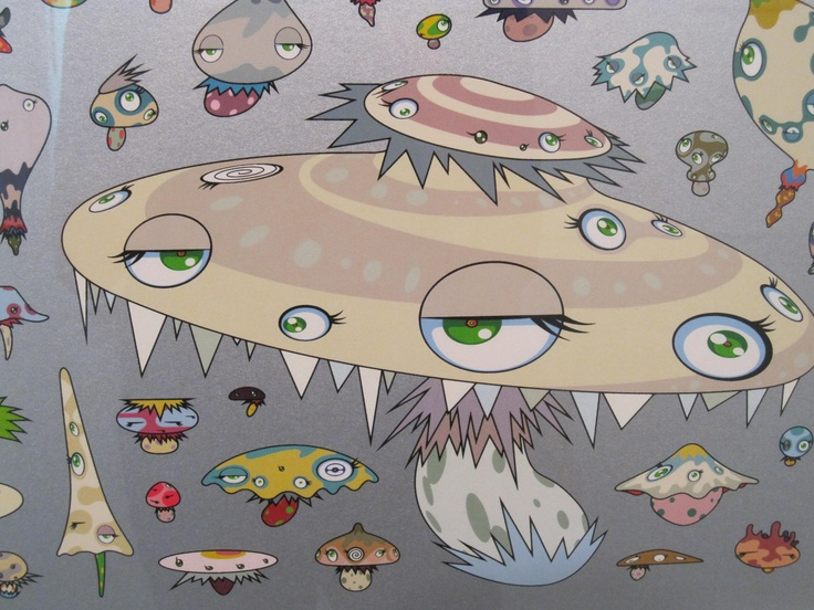 essay on takashi murakami Avant-garde, kitsch and the flatness in-between :  avant garde, kitsch and the deconstructive art in the west  takashi murakami 'flower matango.