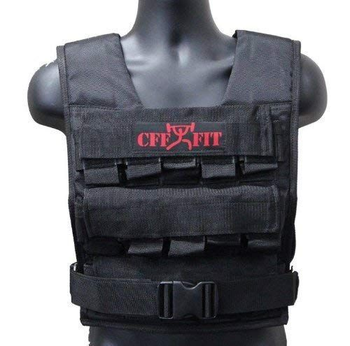 CFF Adjustable Weighted Vest 20 kg/44 lbs Review