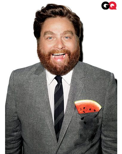 Zach Galifianakis. BY TERRY RICHARDSON