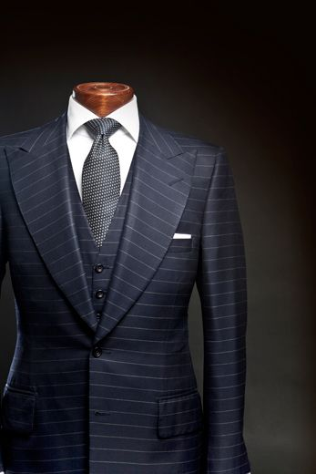 A suit to conquer the world in.