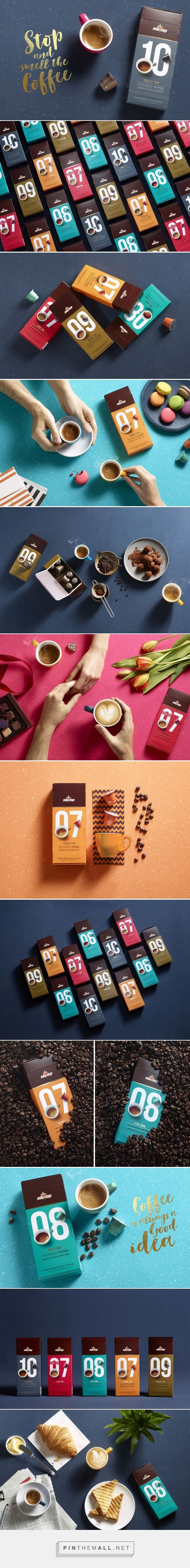Elite Coffee Capsules packaging designed by Shake Design- Maayan Reshef מעיין…