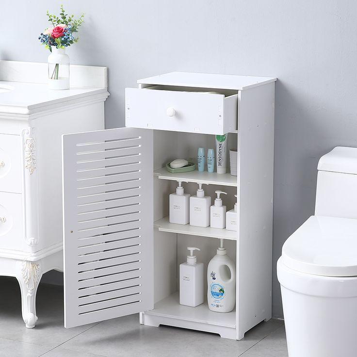 Bathroom Floor Standing Cabinet, Bathroom Floor Cabinets With Drawers