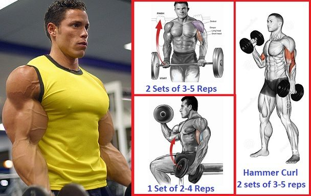 Bicep Strength Training Routine