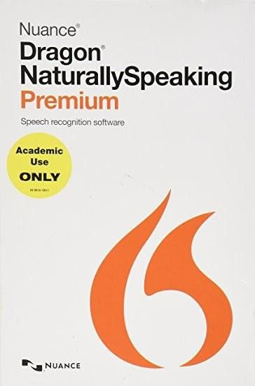 Nuance Dragon K609A-F00-13.0 Naturally Speaking Premium 13.0 US English Academic