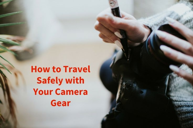 If you like to travel here are some good tips and advice to follow to help you travel safely with all your camera gear.