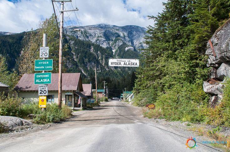 #Hyder #Alaska, unica frontiera #USA non presidiata....anzi, presidiata solo dagli orsi!!