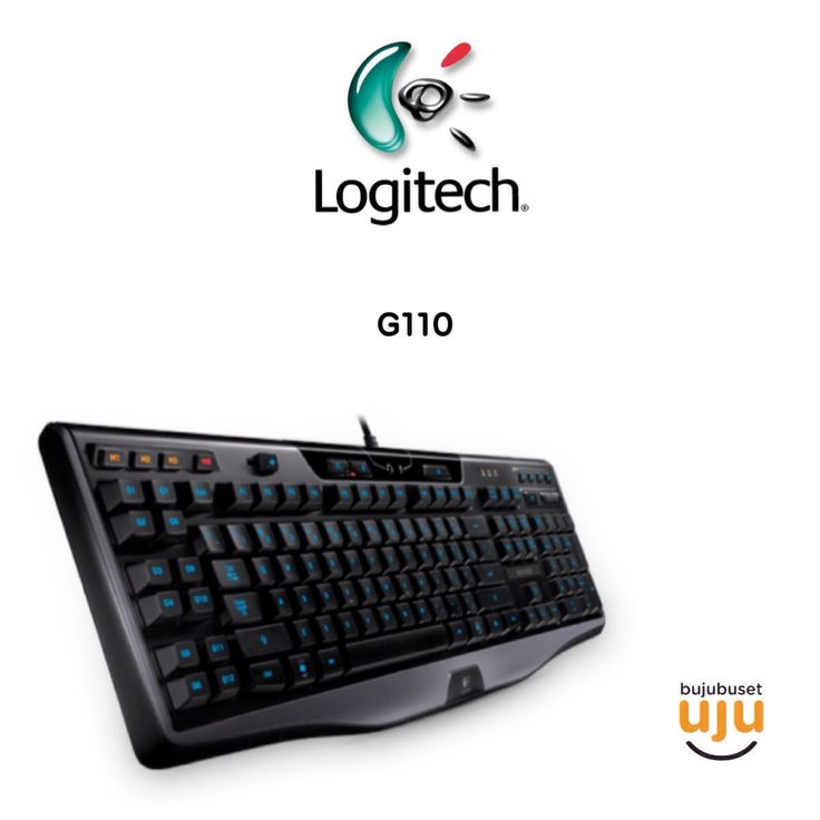 Logitech G110 Gaming keyboard  IDR 870.000