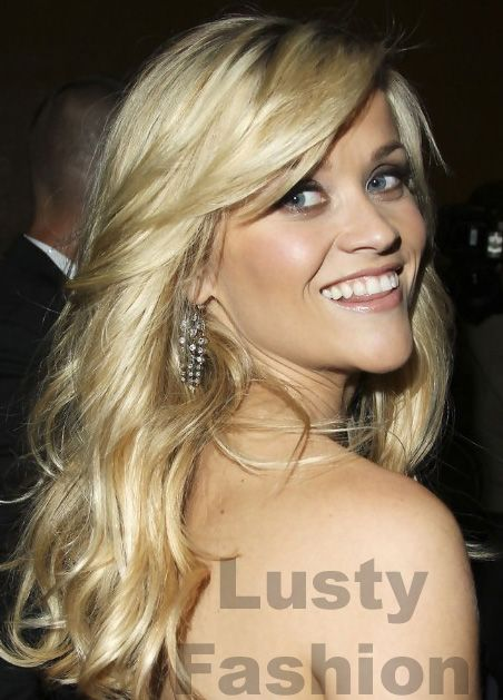Reese Witherspoon one sided bangs hairstyle