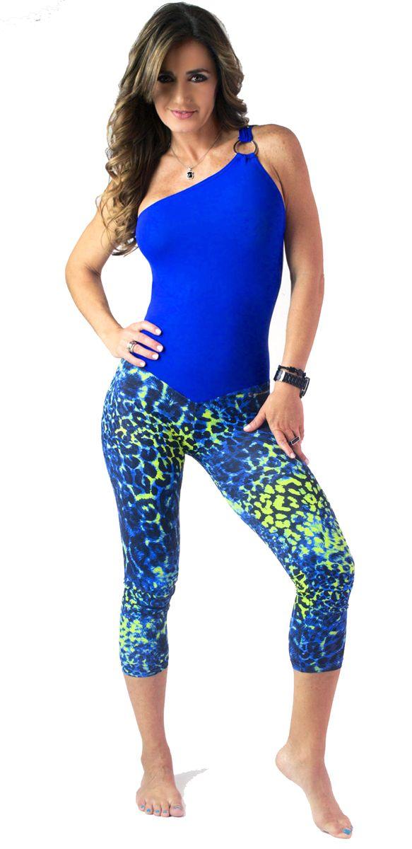 Bohno Fiwear Bodysuit Blue Animal   BOHNO FITWEAR   Yaninas Sportswear