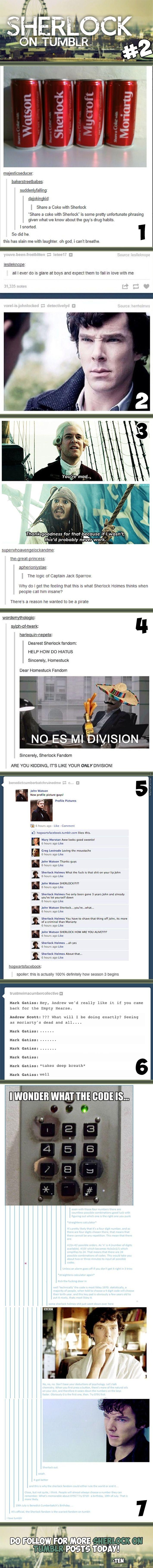 Sherlock on Tumblr