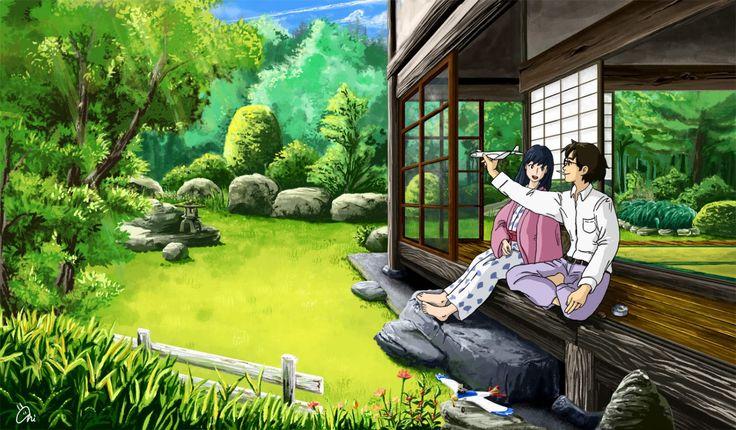 GHIBLI STUDIO, The Wind Rises, Horikoshi Jiro, Satomi Naoko